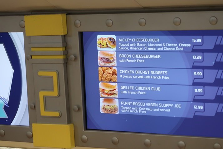 Cosmic Ray's Starlight Menu