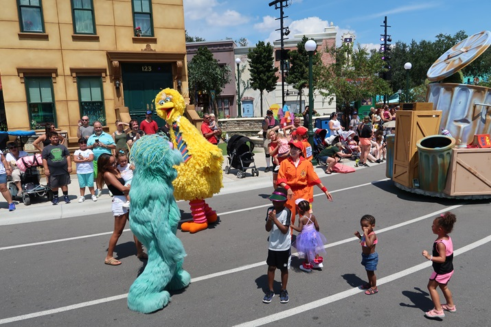 desfile sesame street sea world orlando