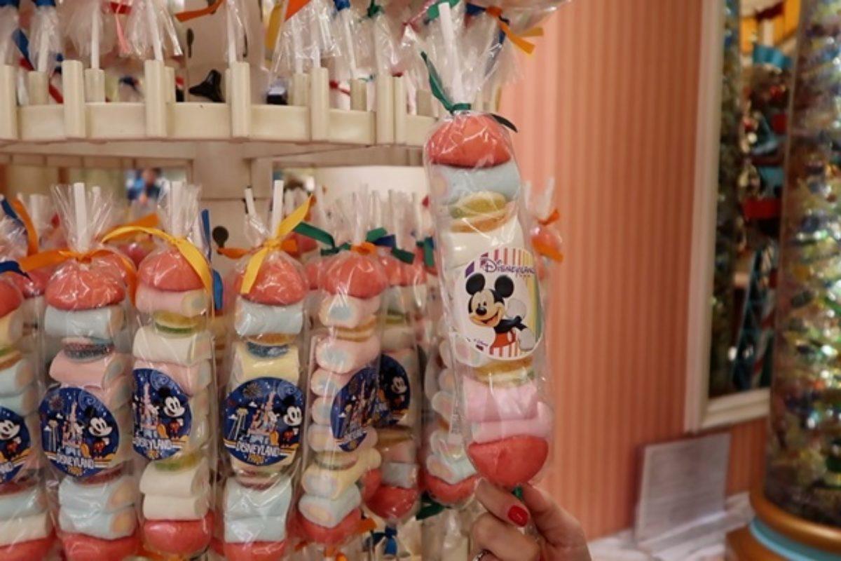 Loja de doces na Disneyland Paris