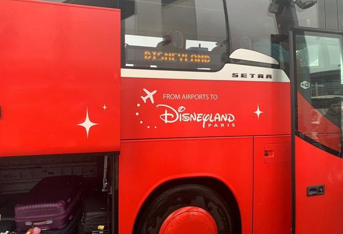 Magical Shuttle Disney Paris