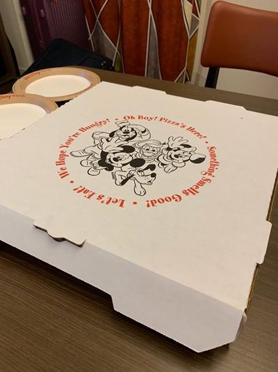 hoteis disney pizza