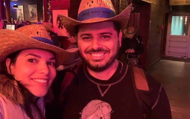 Buffalo Bill's Wild West:  Show faroeste  com Mickey na Disney de Paris
