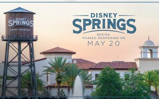 Como será a reabertura de Disney Springs