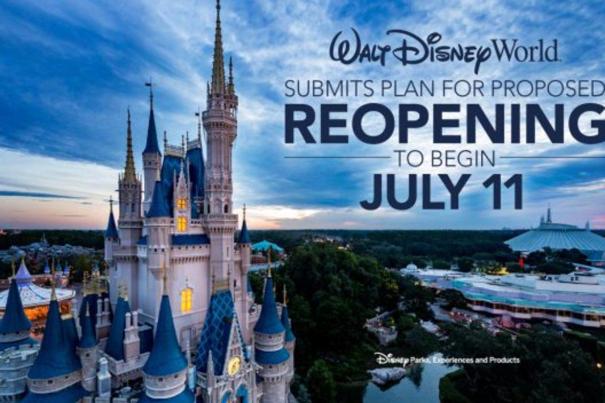 Mudanças da Disney para a Reabertura dos Parques de Orlando