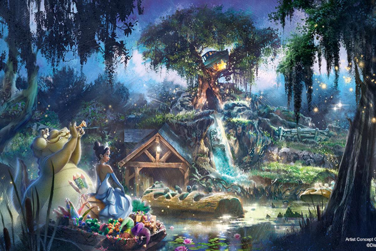 Splash Montain terá novo tema de A Princesa e o Sapo
