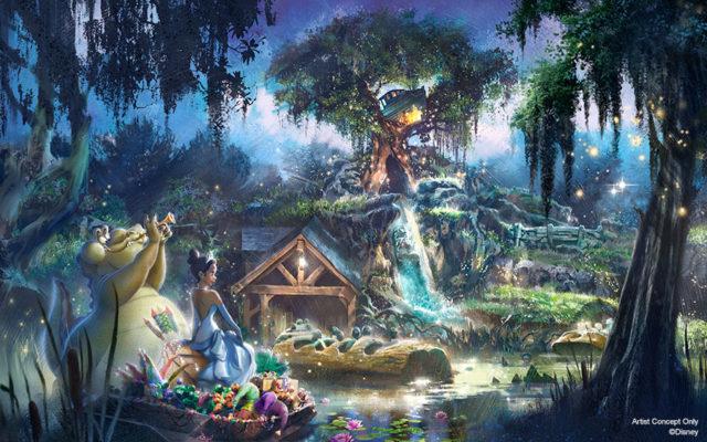 Splash Montain terá novo tema de A Princesa e oSapo
