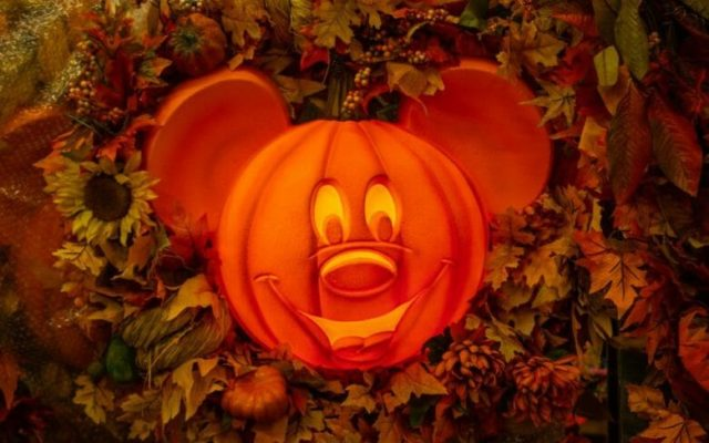 Comemoração de Halloween da Disney em2020
