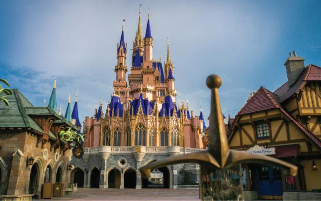 O que tem dentro do Castelo da Cinderela?
