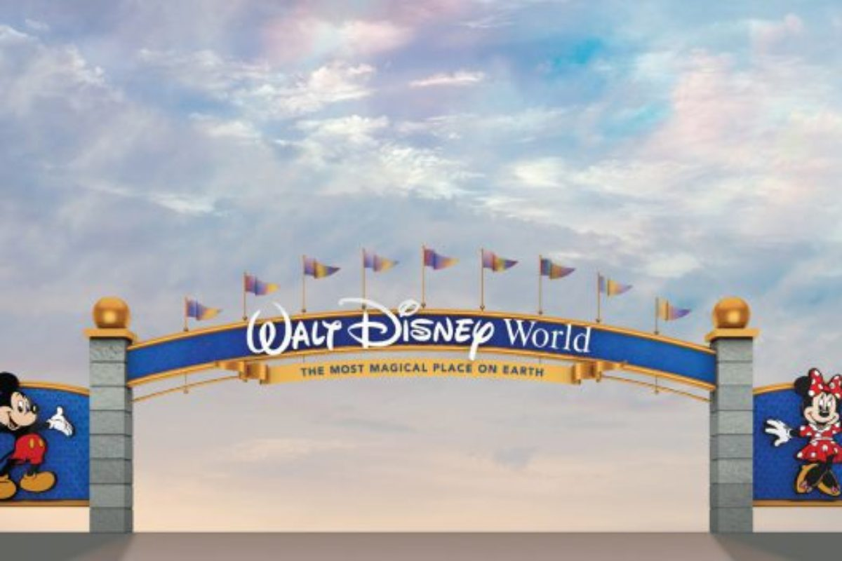 Reforma no Portal do Walt Disney World