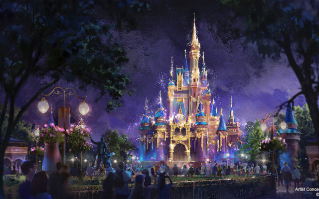 Como será a celebração dos 50 anos da Disney em Orlando